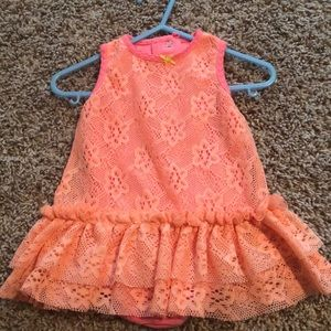 ✏️Sale 3 for $20✏️ Adorable Onsie Dress s 9months